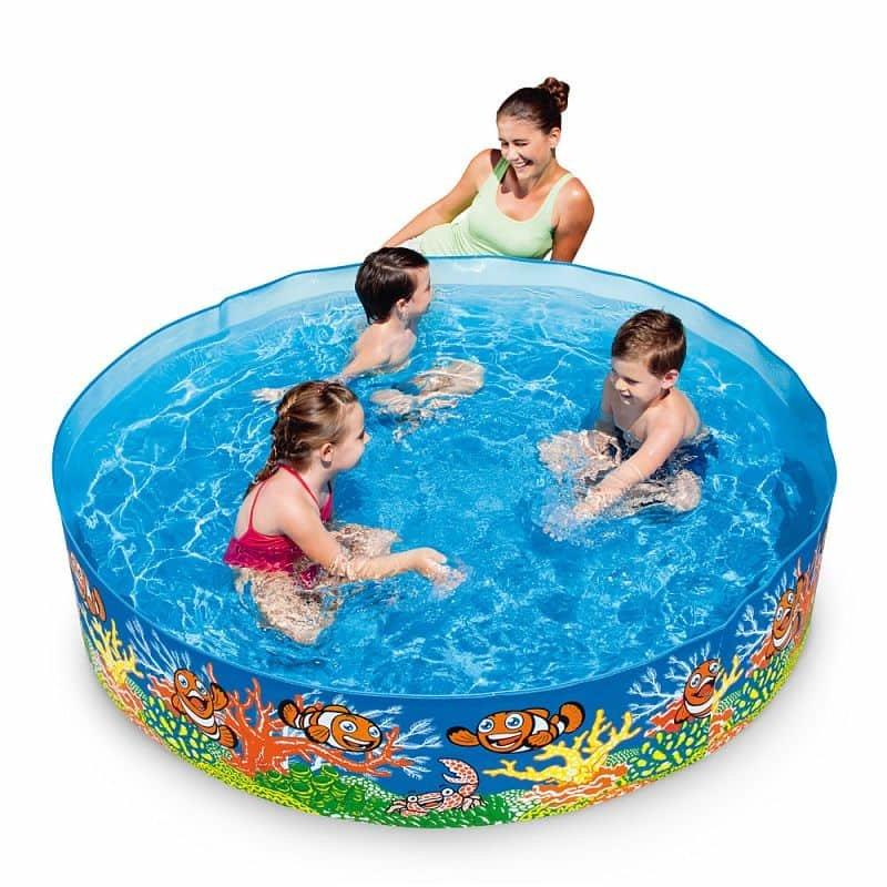Dětský nadzemní kruhový bazén Bestway - objem 749 l, průměr 183 cm a výška 38 cm
