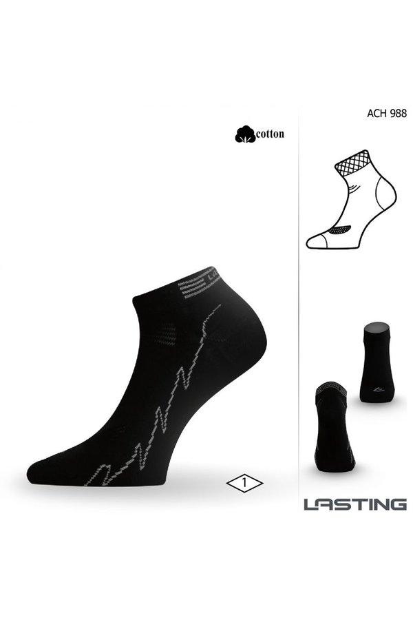 Černé pánské ponožky Lasting - velikost 34-37 EU