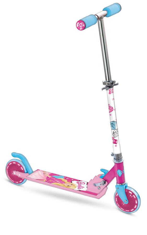 """Růžová koloběžka pro děti """"Barbie"""", Mondo"""