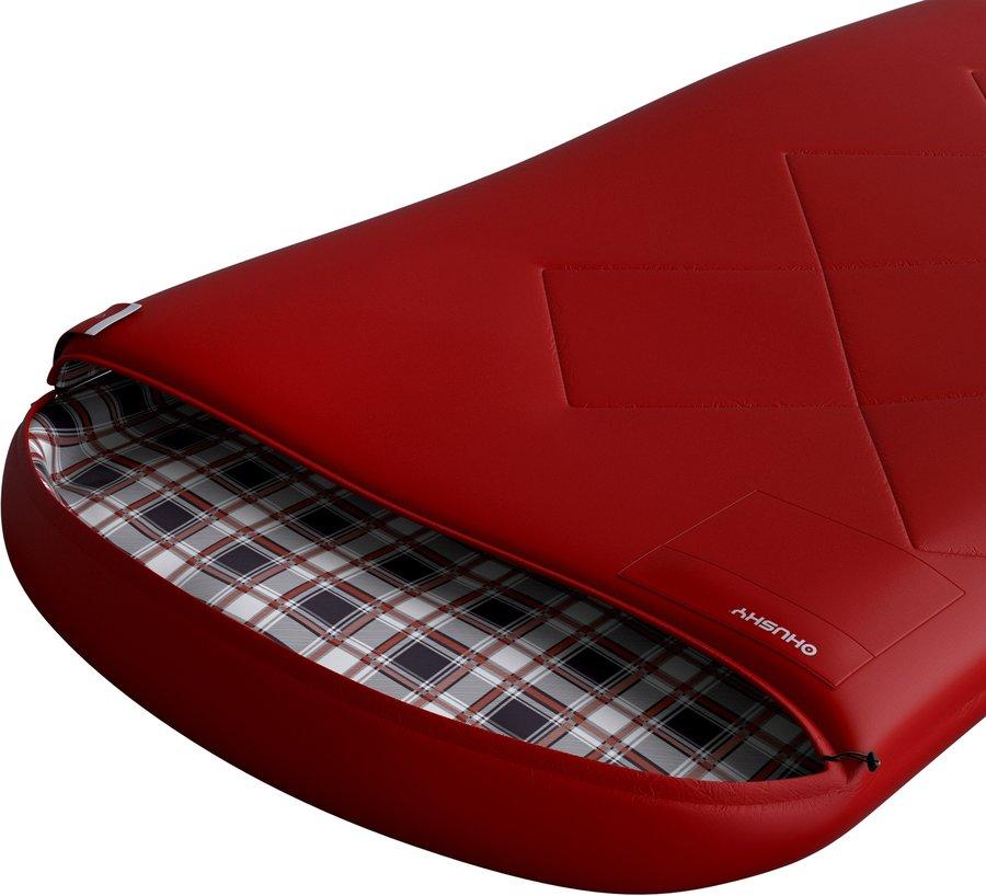 Červený spací pytel Husky - délka 170 cm