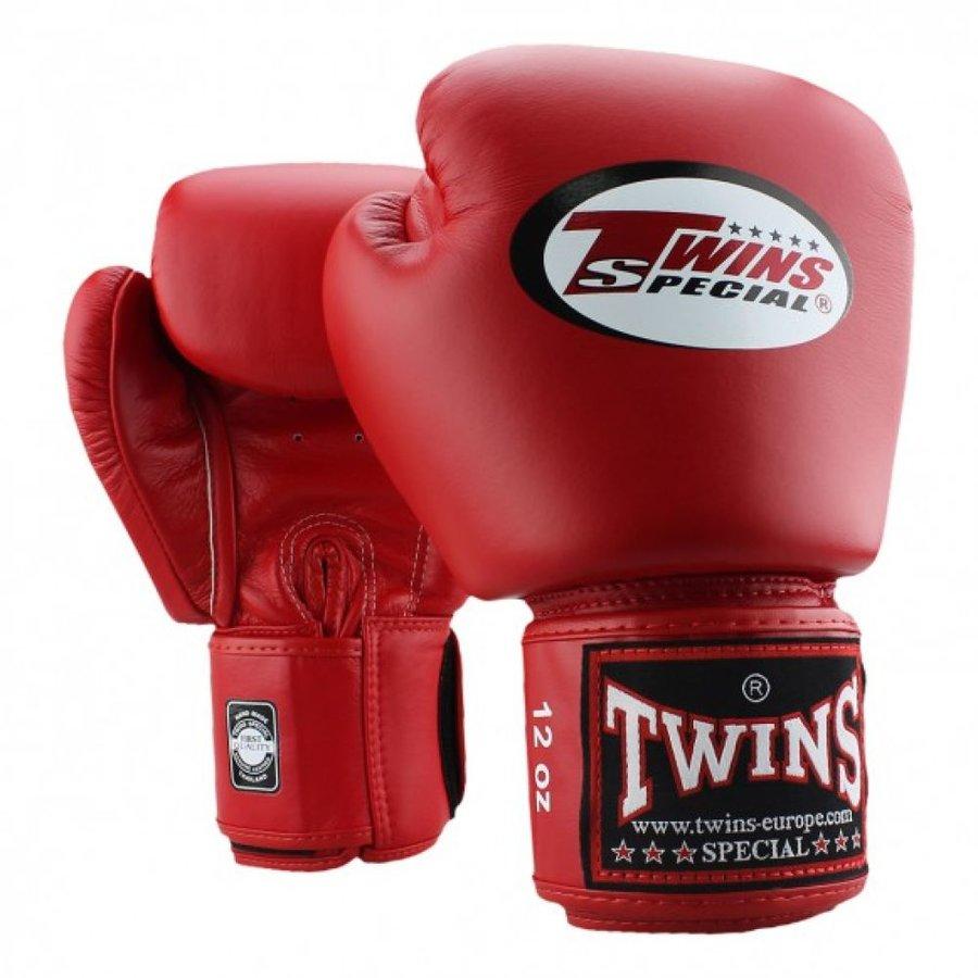 Boxerské rukavice - Boxerské rukavice Twins - červená - červená - velikost 16