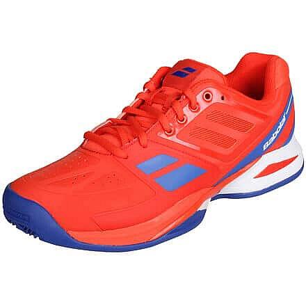 Červená pánská tenisová obuv Propulse Team Clay, Babolat