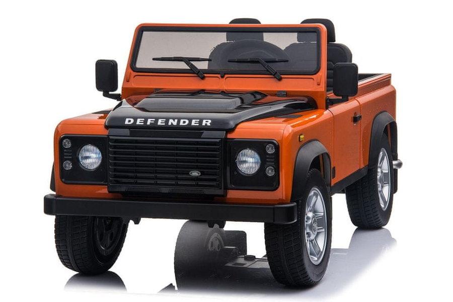 Červené dětské elektrické autíčko Beneo