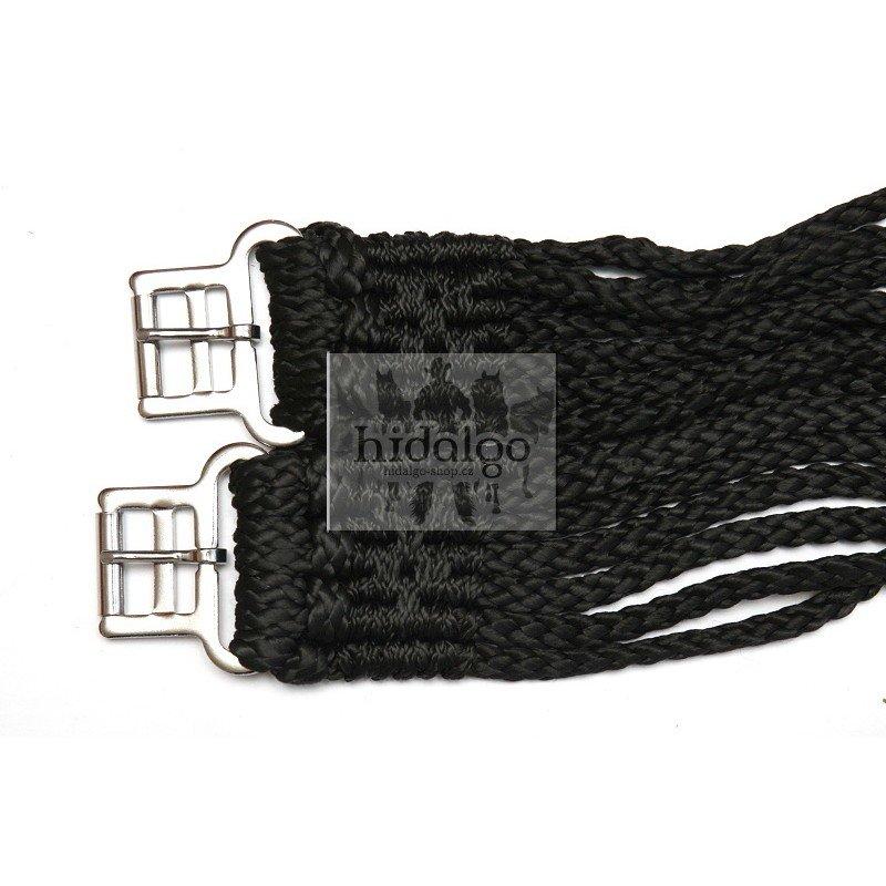 Bílý podbřišník HKM - délka 110 cm