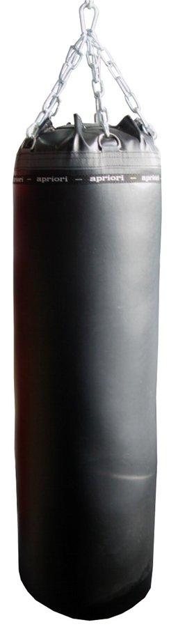 Černý boxovací pytel APRIORI - 47 kg