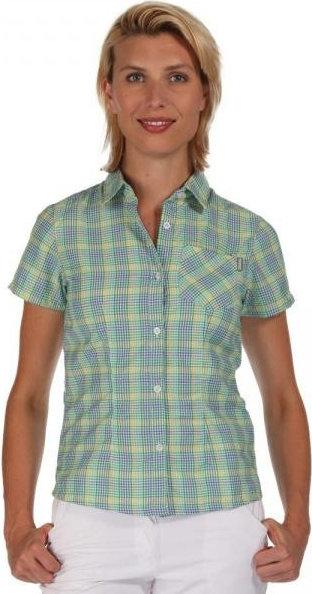 Modrá dámská košile s krátkým rukávem Regatta - velikost 36