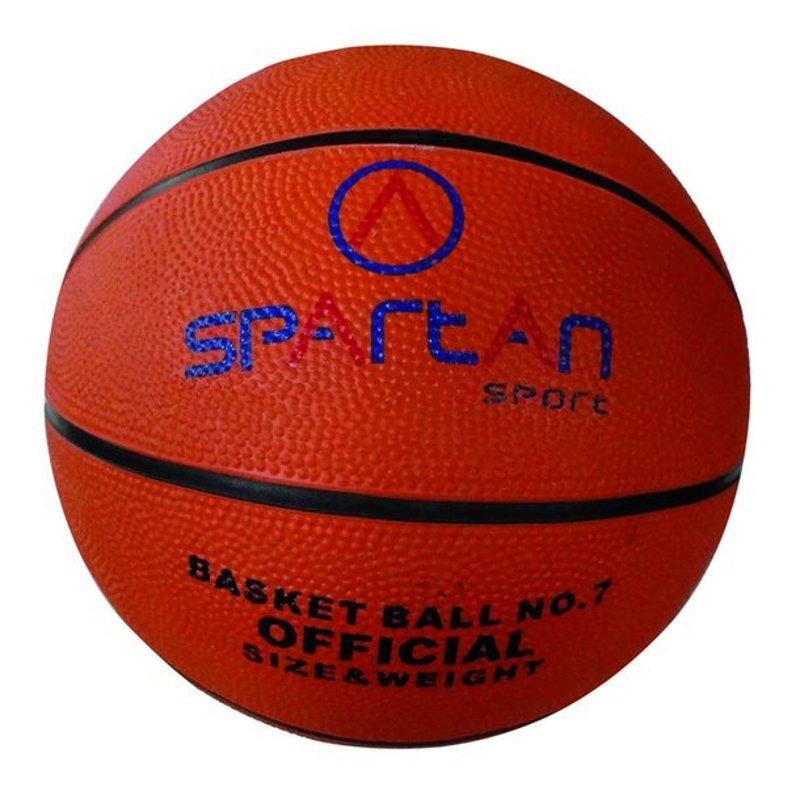 Oranžový basketbalový míč Florida, SPARTAN SPORT - velikost 7