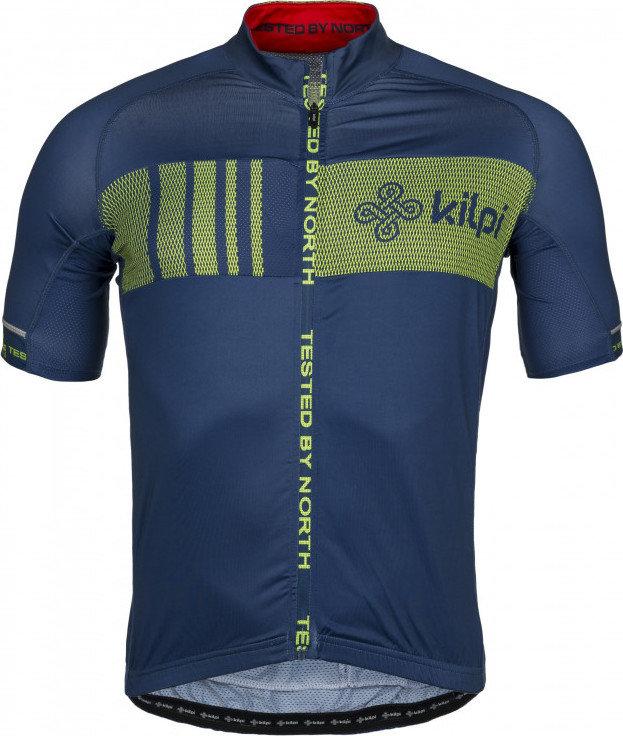 Modrý pánský cyklistický dres Kilpi - velikost XL