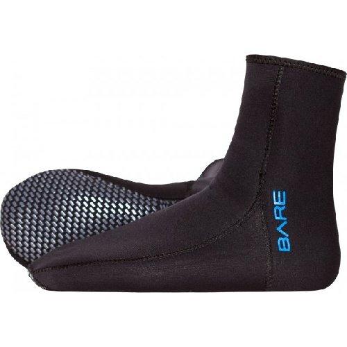 Černé neoprenové ponožky Neo Socks, Bare - tloušťka 2 mm