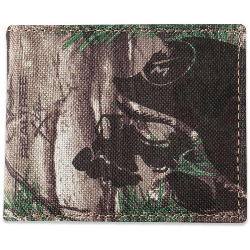 Peněženka - PENĚŽENKA METAL MULISHA SHIELD - šedobéžová