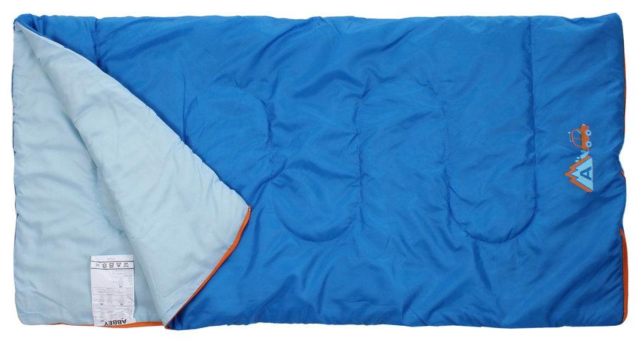 Modrý dětský spací pytel Abbey Camp - délka 140 cm