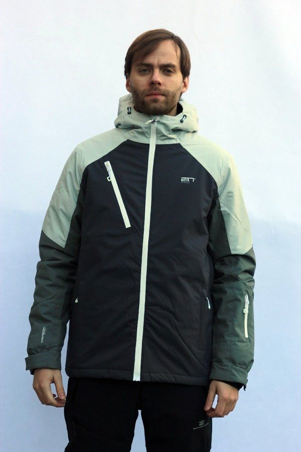 Bílo-černá pánská lyžařská bunda 2117 of Sweden