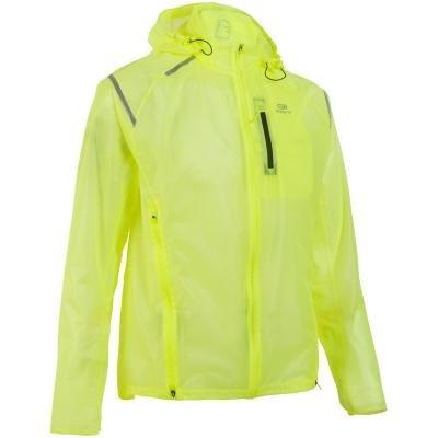 Žlutá běžecká bunda Kiprun, Kalenji - velikost XXL