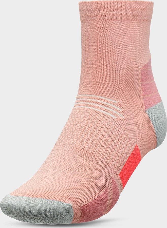 Růžové dámské ponožky 4F - velikost 39-42 EU