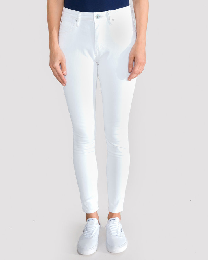 Bílé dámské džíny Pepe Jeans