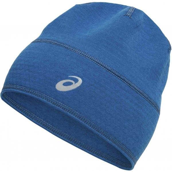 Modrá zimní čepice Asics