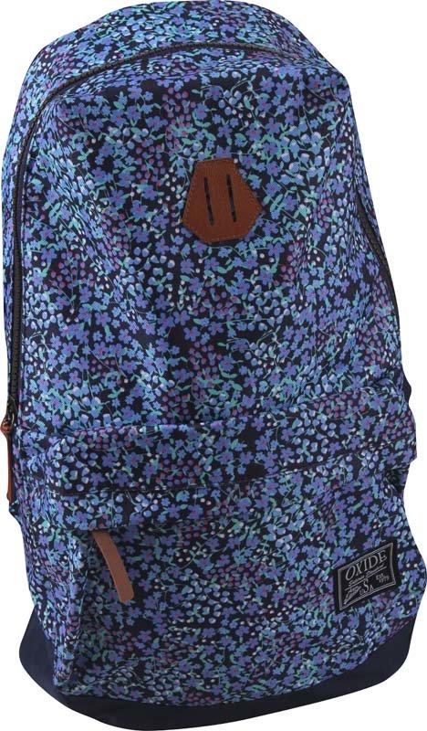 Batoh - OXIDE - lehký sport. batoh; květinový potisk