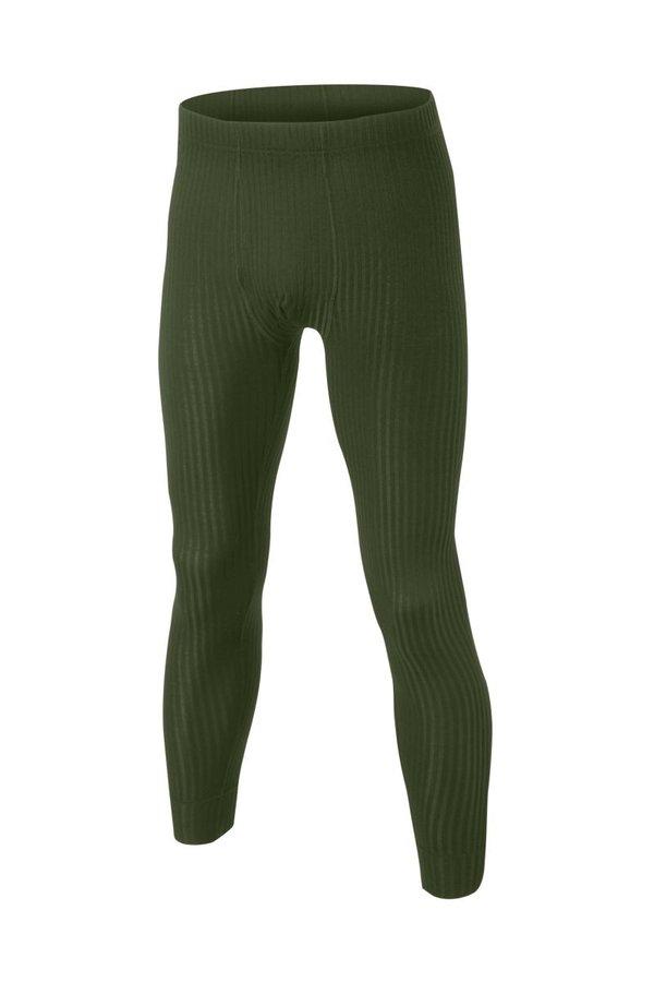 Zelené pánské termo kalhoty Lasting - velikost 3XL