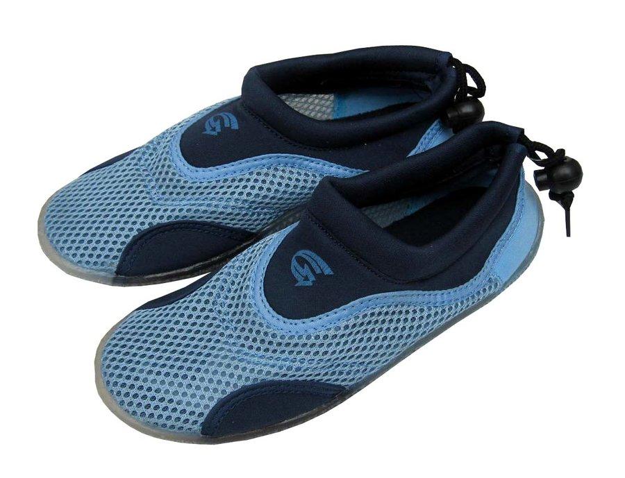 Modré nízké pánské neoprenové boty Alba, RCM