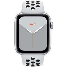 Šedé chytré hodinky Watch Nike Series 5 GPS, Apple