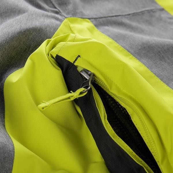 Zelená dámská lyžařská bunda Alpine Pro - velikost L
