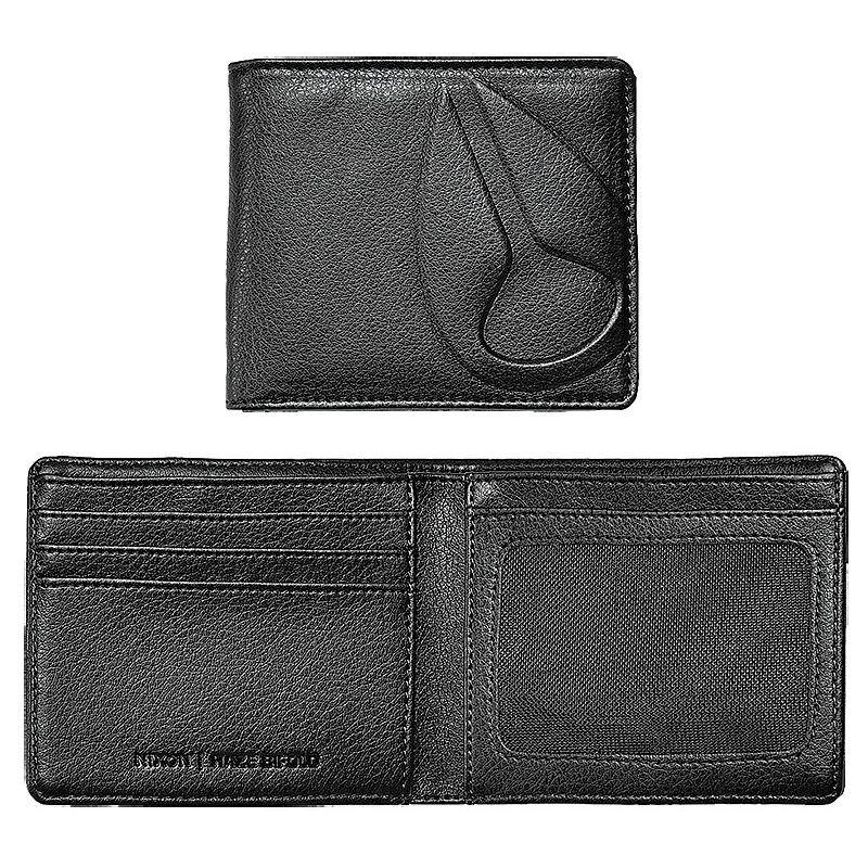 Peněženka - PENĚŽENKA NIXON HAZE BI-FOLD - černá