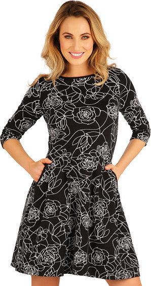 Černé dámské šaty Litex - velikost S