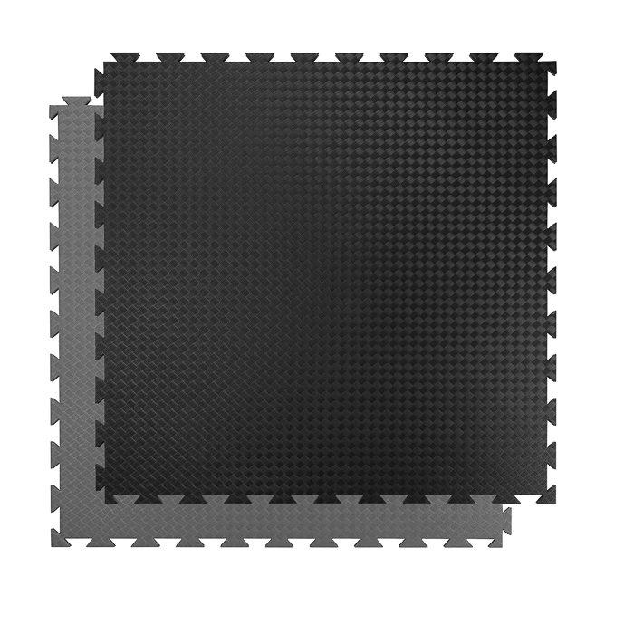 Černo-šedá zátěžová podložka Spartan - tloušťka 20 mm