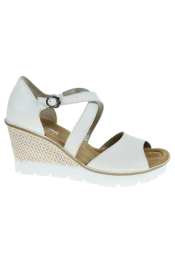 Bílé sandály Rieker