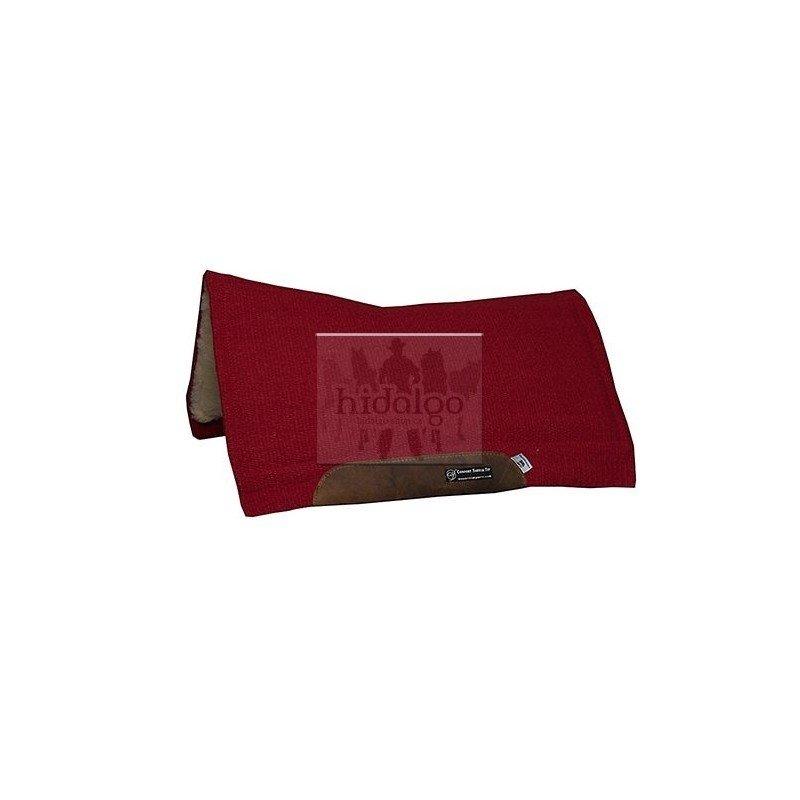 Podsedlová dečka - Westernová deka CSF Color Solid Barevná varianta: Červená