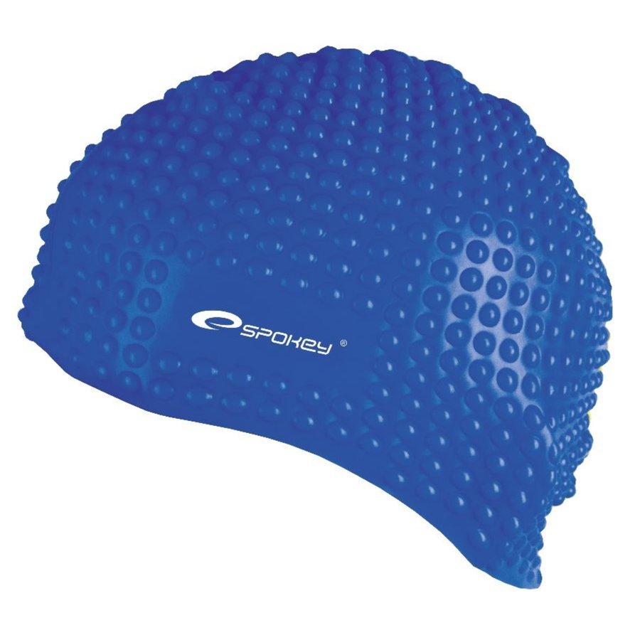 Modrá pánská nebo dámská plavecká čepice BELBIN, Spokey