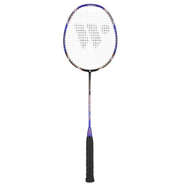 Černo-modrá raketa na badminton Fusiontec 973, Wish - délka 66,5 cm