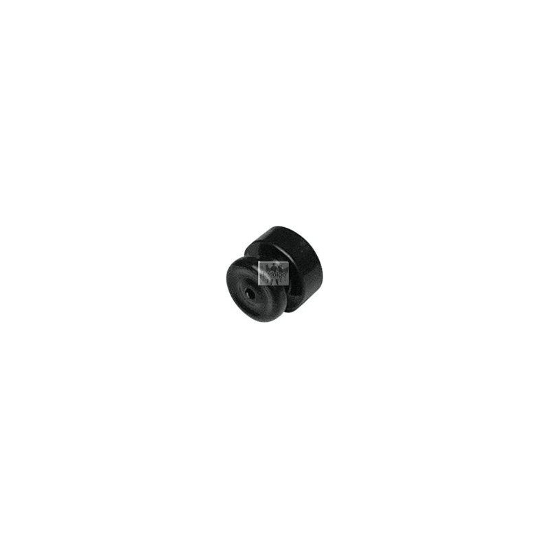 Izolátor ohradníku - Izolátor ohradníku prstencový černý (100)