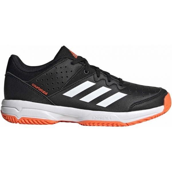 Černé dětské boty na házenou Adidas - velikost 38 EU