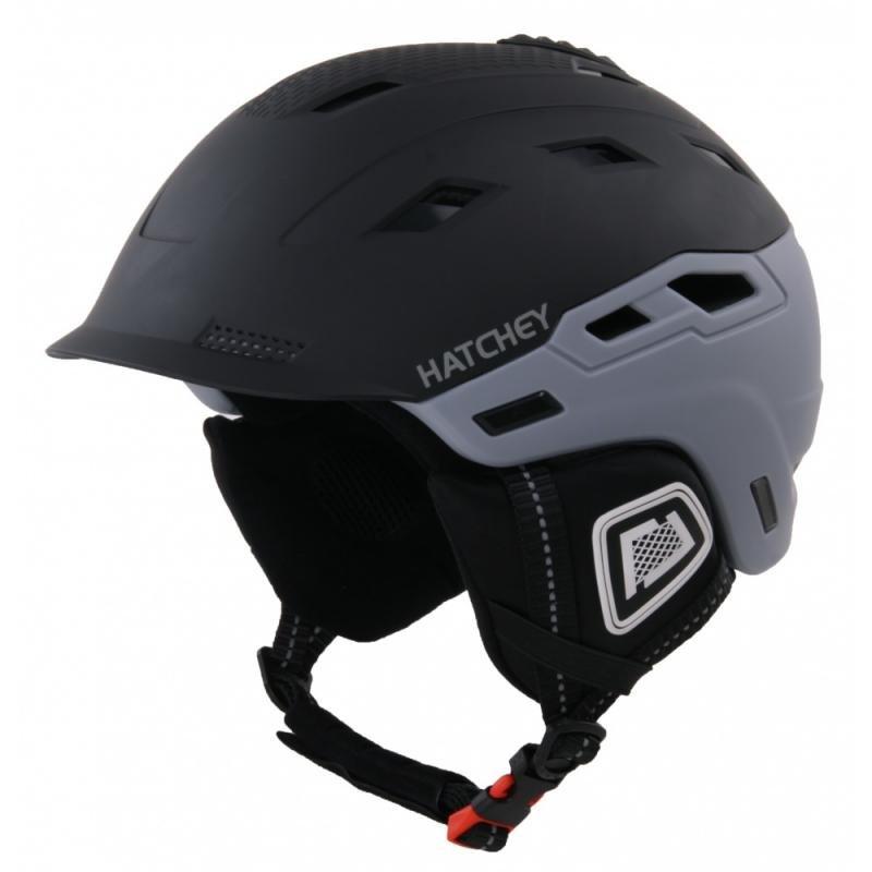 Černá lyžařská helma Hatchey - velikost 54-58 cm