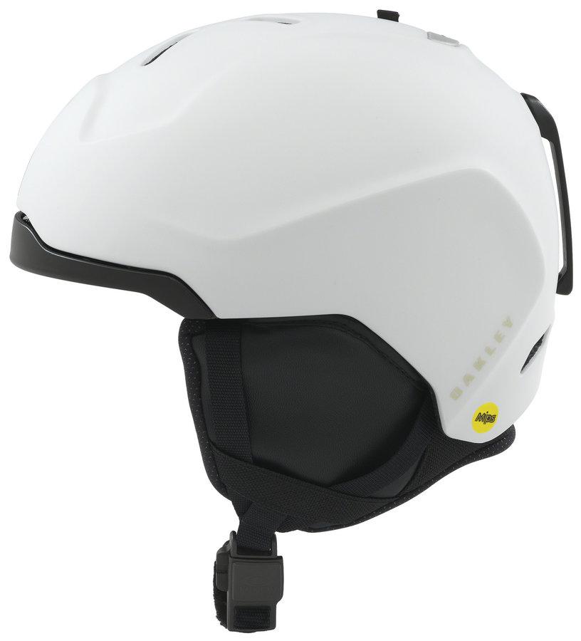 Bílá pánská helma na snowboard Oakley - velikost 55-59 cm