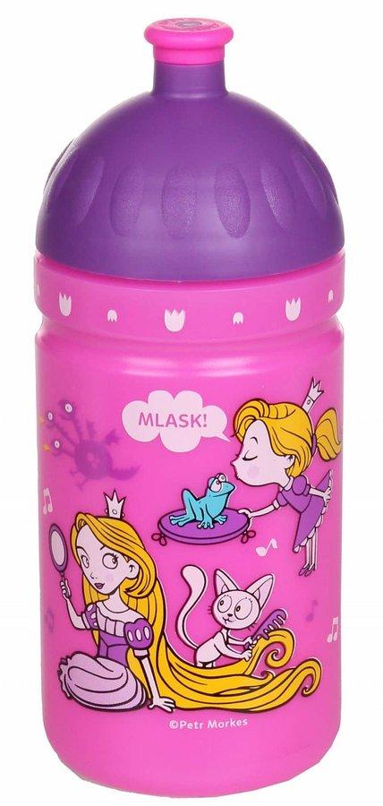 Láhev na pití - Zdravá láhev Svět princezen objem: 500 ml