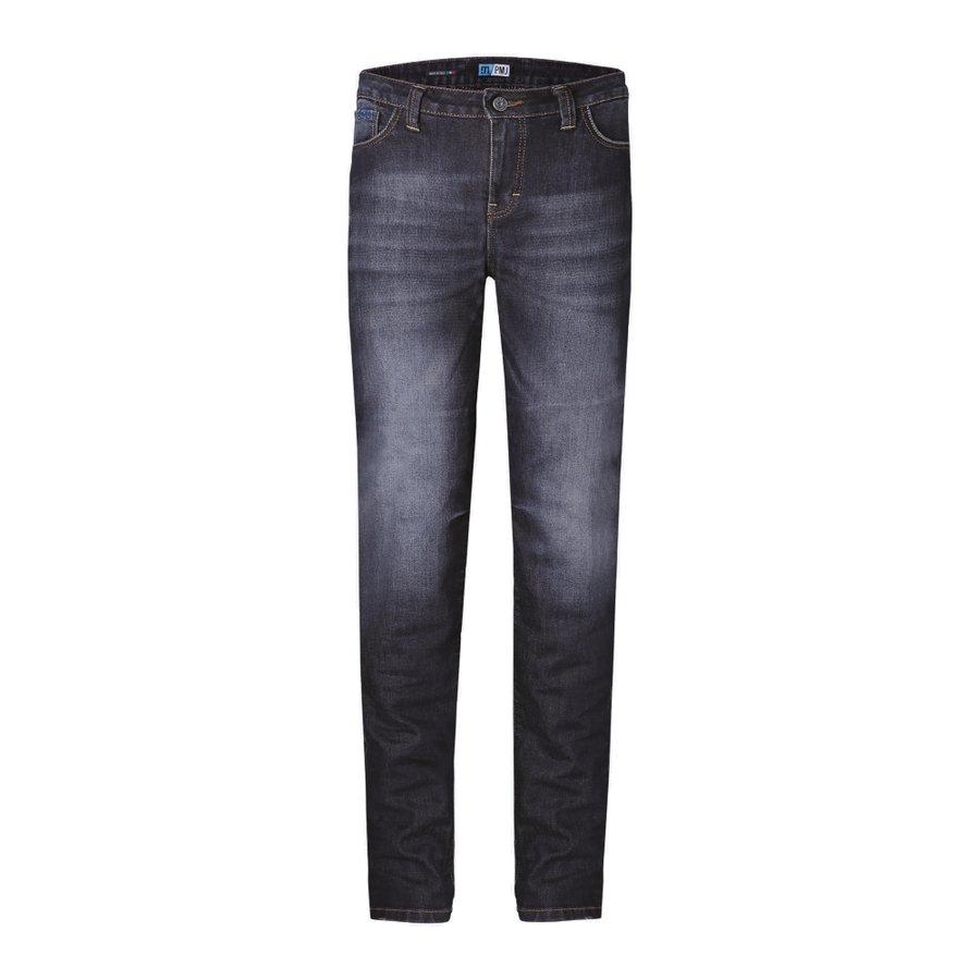 Modré dámské motorkářské kalhoty Legend Lady, PMJ Promo Jeans - velikost 29