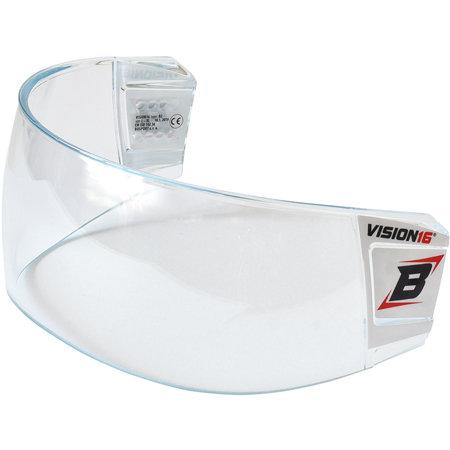 Plexi na hokejovou helmu - Plexi Bosport Vision16 STD B2 čirá (průhledná)