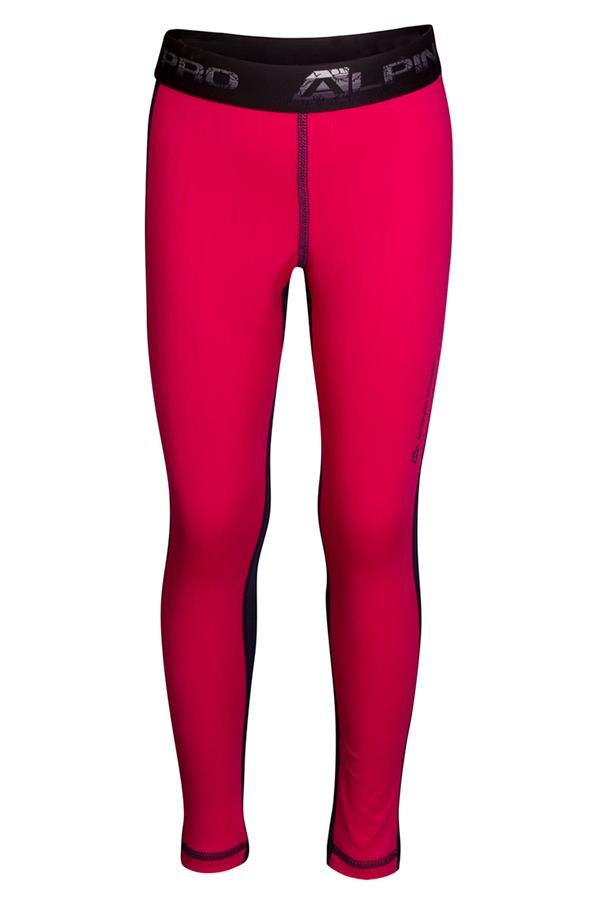Růžové dívčí funkční kalhoty Alpine Pro