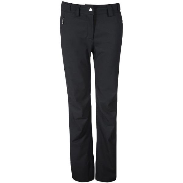 Černé dámské lyžařské kalhoty Fischer