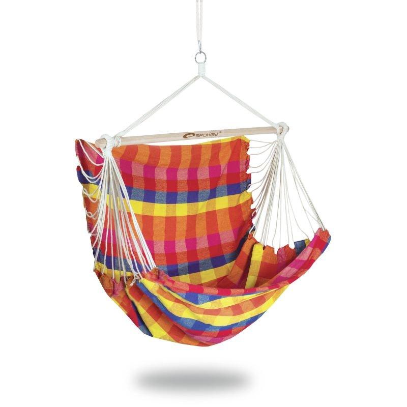 Různobarevné houpací křeslo BENCH DELUXE, Spokey