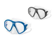 Černo-modrá dětská potápěčská maska INTEX