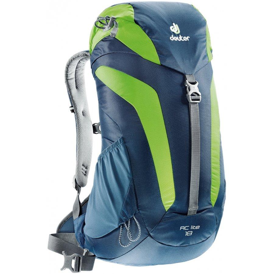 Modro-zelený turistický batoh AC Lite, Deuter - objem 18 l