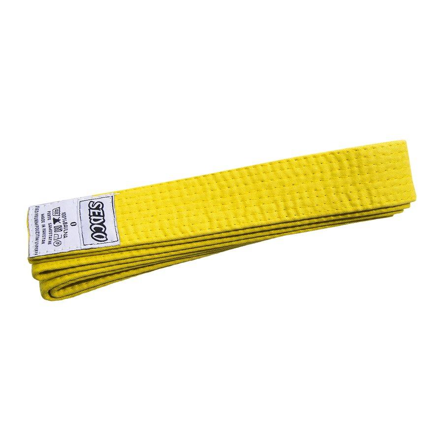 Žlutý judo pásek Sedco - délka 260 cm