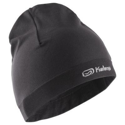 Černá běžecká čepice Kalenji