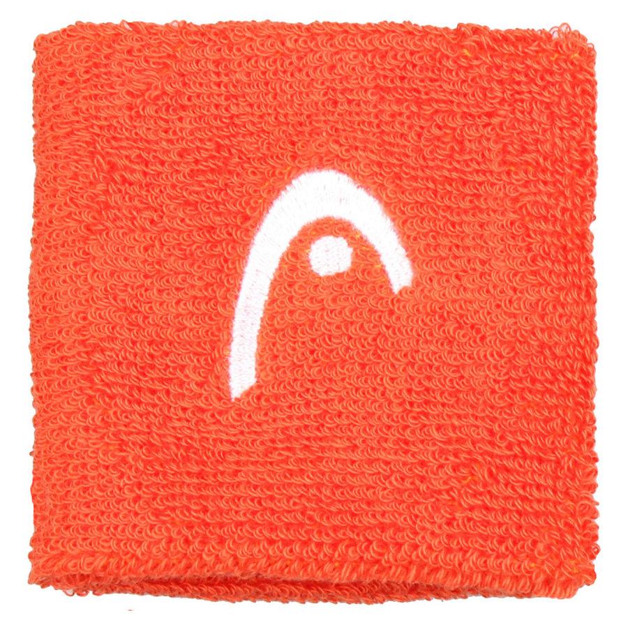 Oranžové tenisové potítko Head - 2 ks