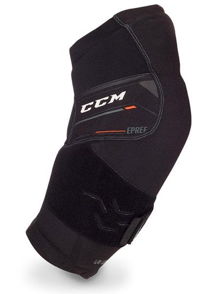 Černý hokejový chránič loktů - senior CCM