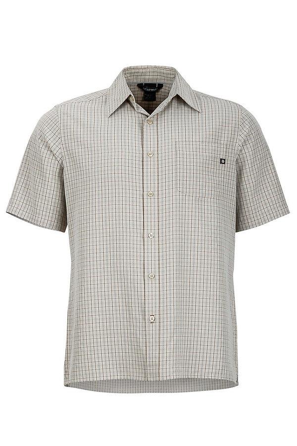 Bílá kostkovaná pánská košile Marmot