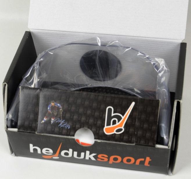 Plexi na hokejovou helmu - Plexi Hejduk MH 400 PRO LINE Barva: čirá